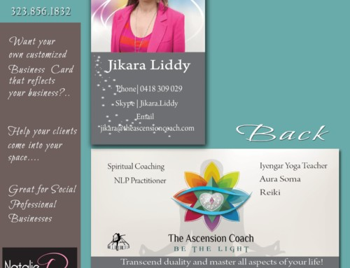 The Ascension Coach  Business Card