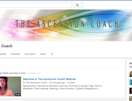 The Ascension Coach Youtube Channel Art